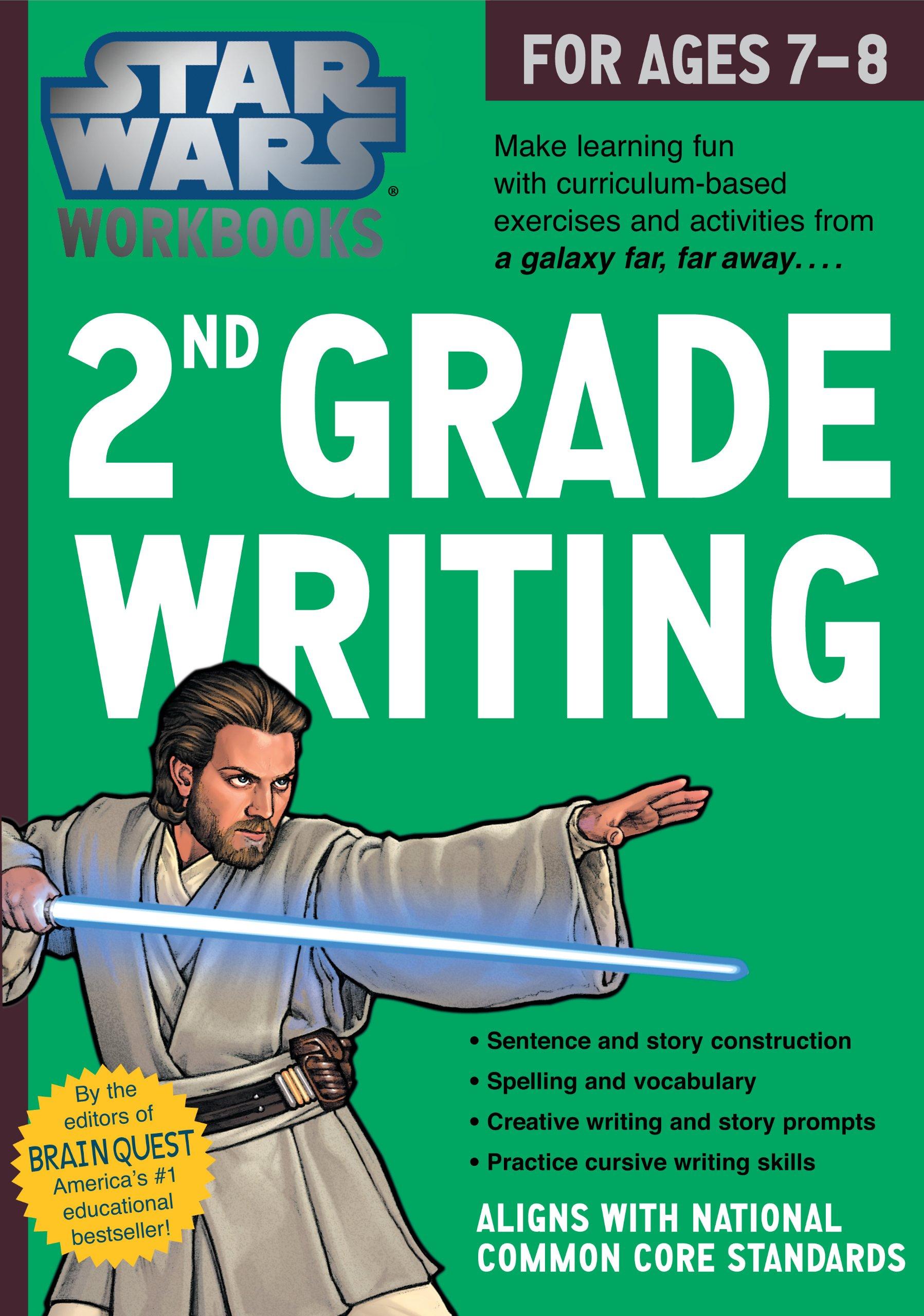 Star Wars Workbook: 2nd Grade Writing (Star Wars Workbooks): Workman ...