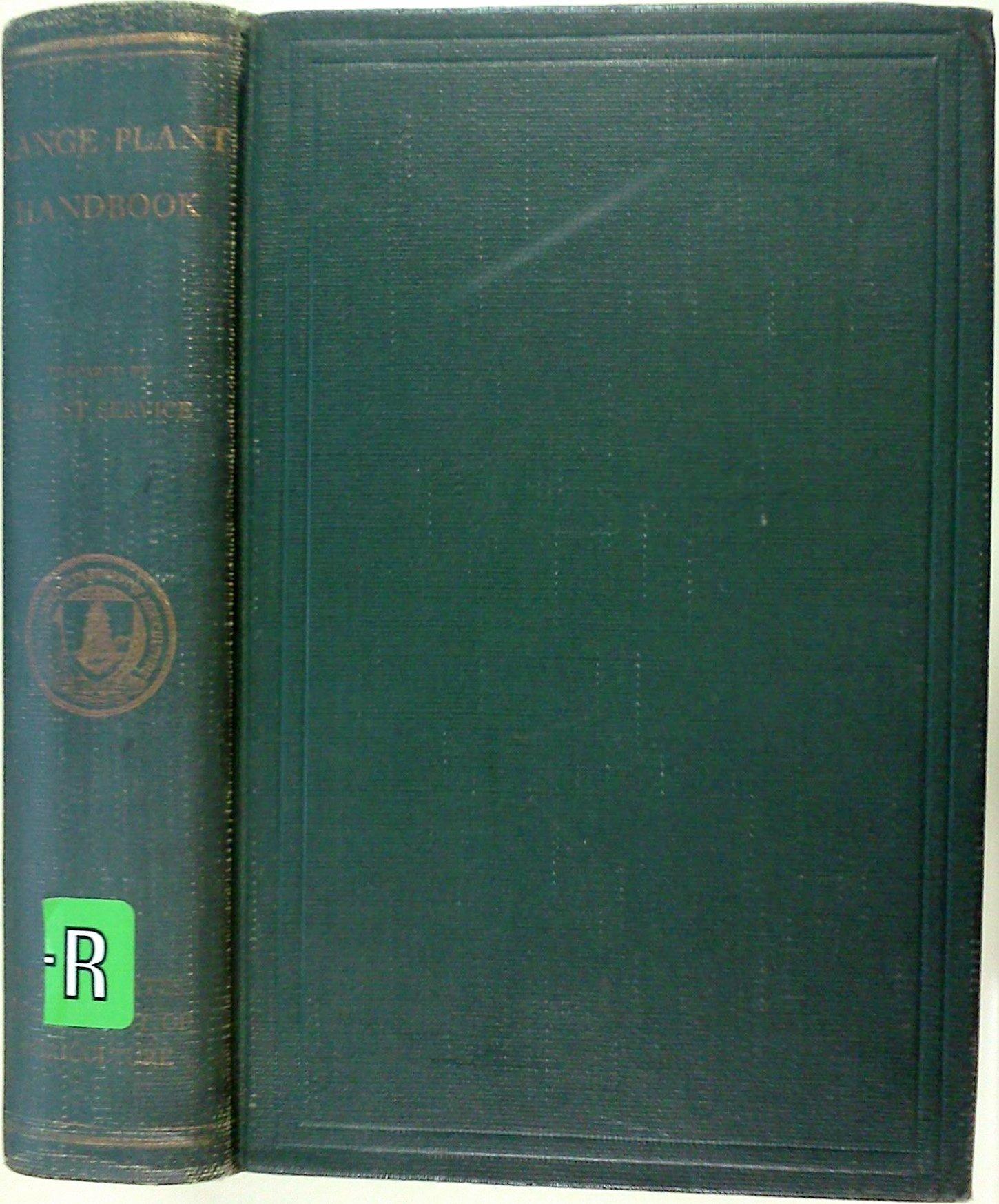 Range Plant Handbook