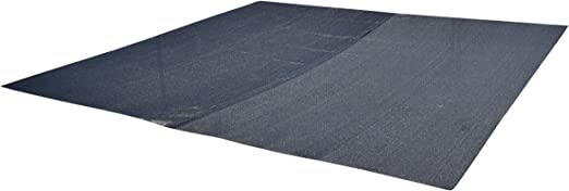Nickanny's UV Rated 85% Block Dog Kennel Cover Sun Block Shade Top with Grommets and Cable Ties for Installation