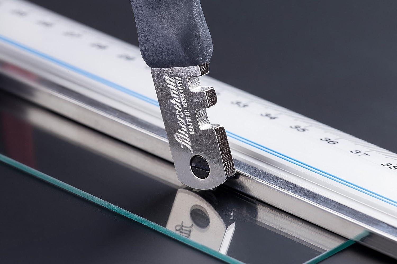 Gelentea Glasschneider manuelle Fliesenspiegel Schneider Multifunktions-Glasschneider Set Keramikfliesen/öffner Easy Glasfliesenschneider