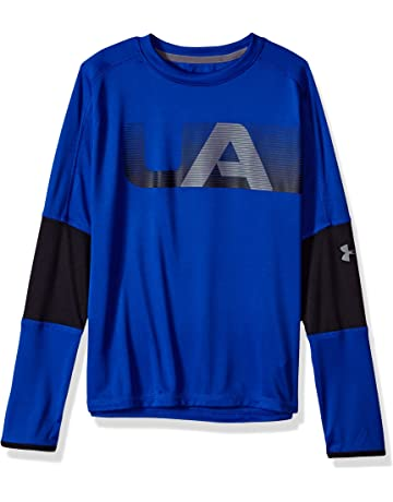 bad185dcc716 Under Armour Boys' Tech Tee Long-Sleeve Shirt