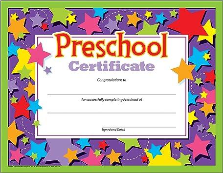 Trend Enterprises Inc Diploma Preschool 30//Pk 8-1//2 X 11