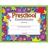 Amazon.com : Trend Enterprises Preschool Diploma, 30 per Package ...