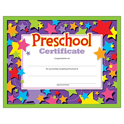amazon com preschool certificates pack of 30 office products