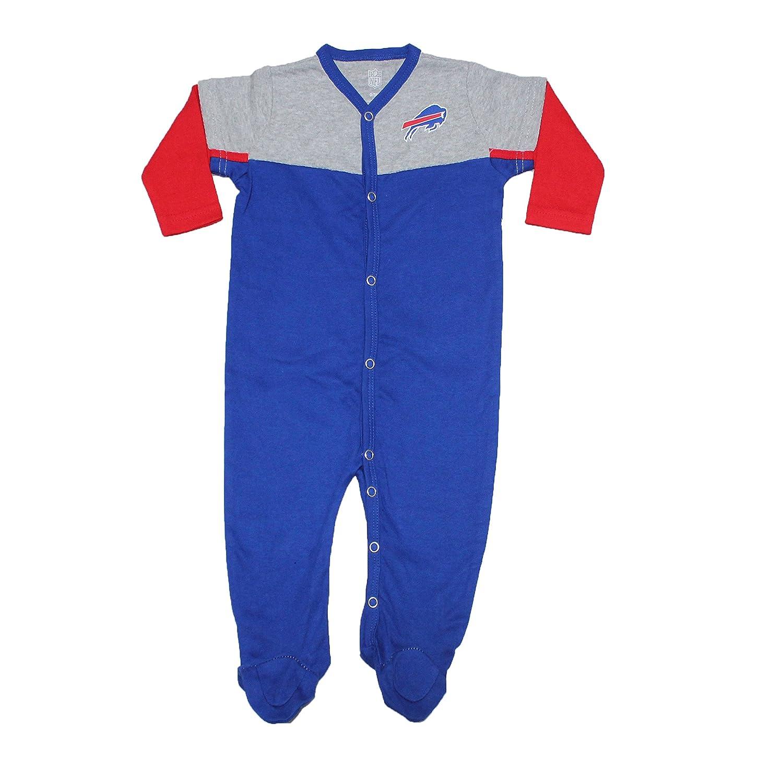7fadb106 Amazon.com: NFL Buffalo Bills Baby One-Piece Footed Long Sleeve ...