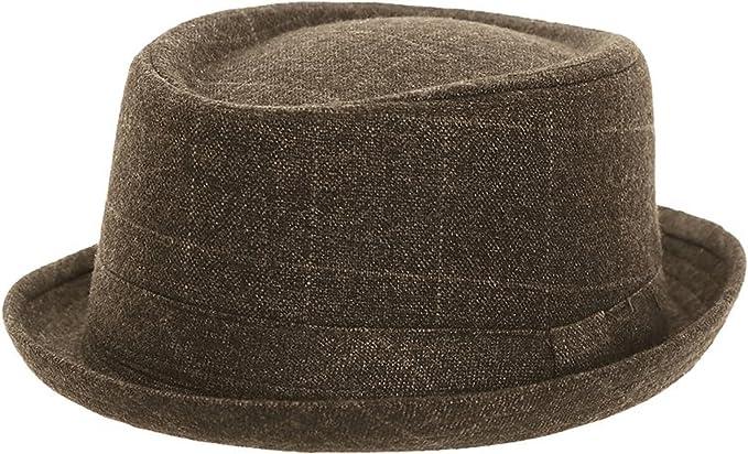 Hawkins Sombrero de paja tipo /«Pork pie/»