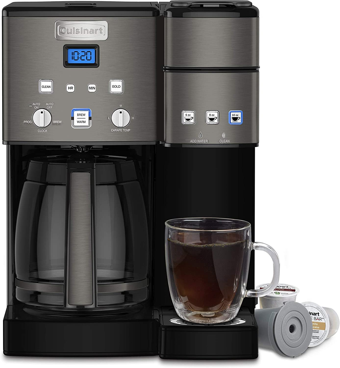 Amazon.com: Cafetera Cuisinart Maker Coffee Center de 12 ...