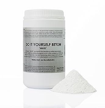 Do It Yourself Betonwhite 175 Kg Weißer Spezial Beton Kreativ