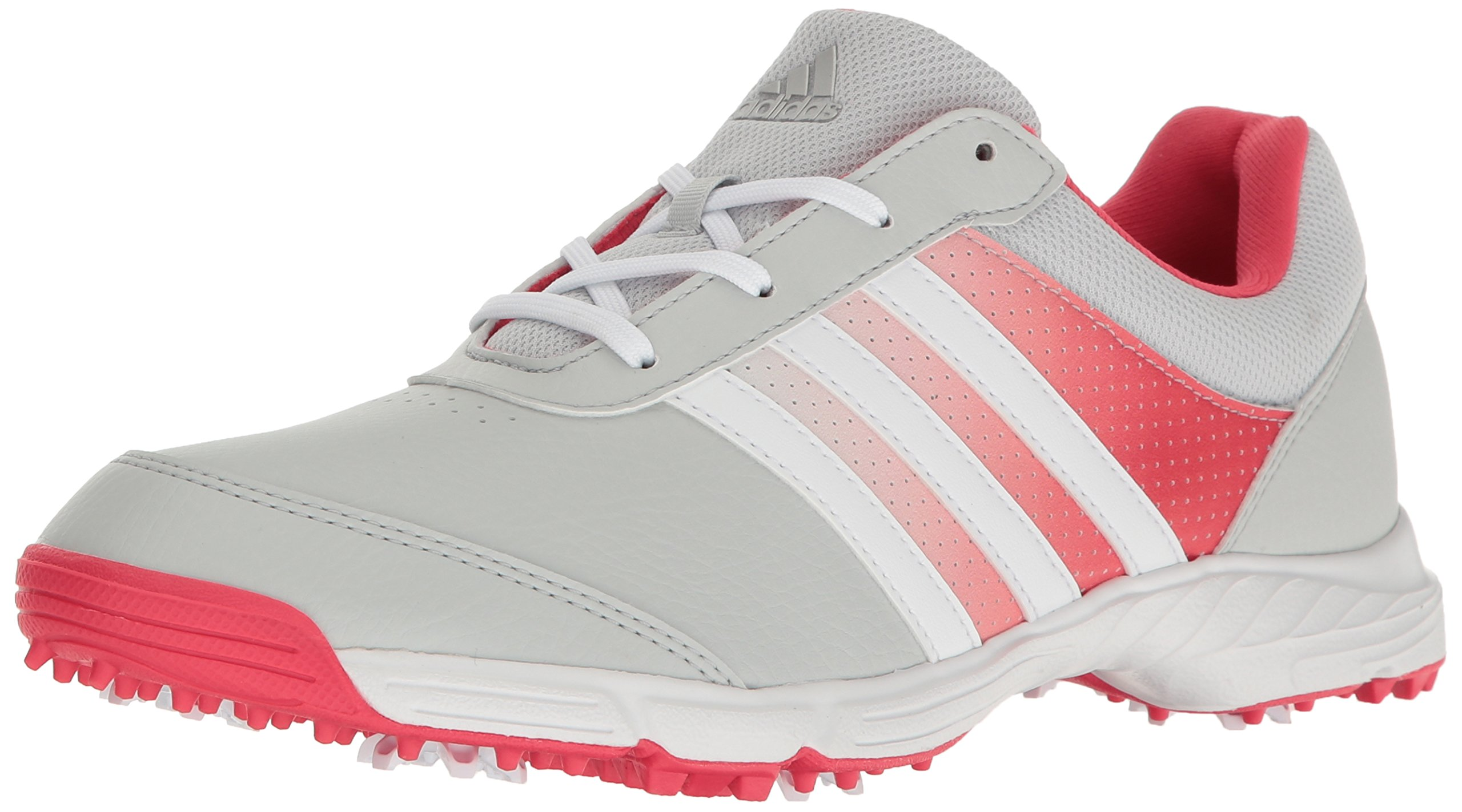 adidas Women's Tech Response Golf Shoe, Clear/Grey, 7.5 M US