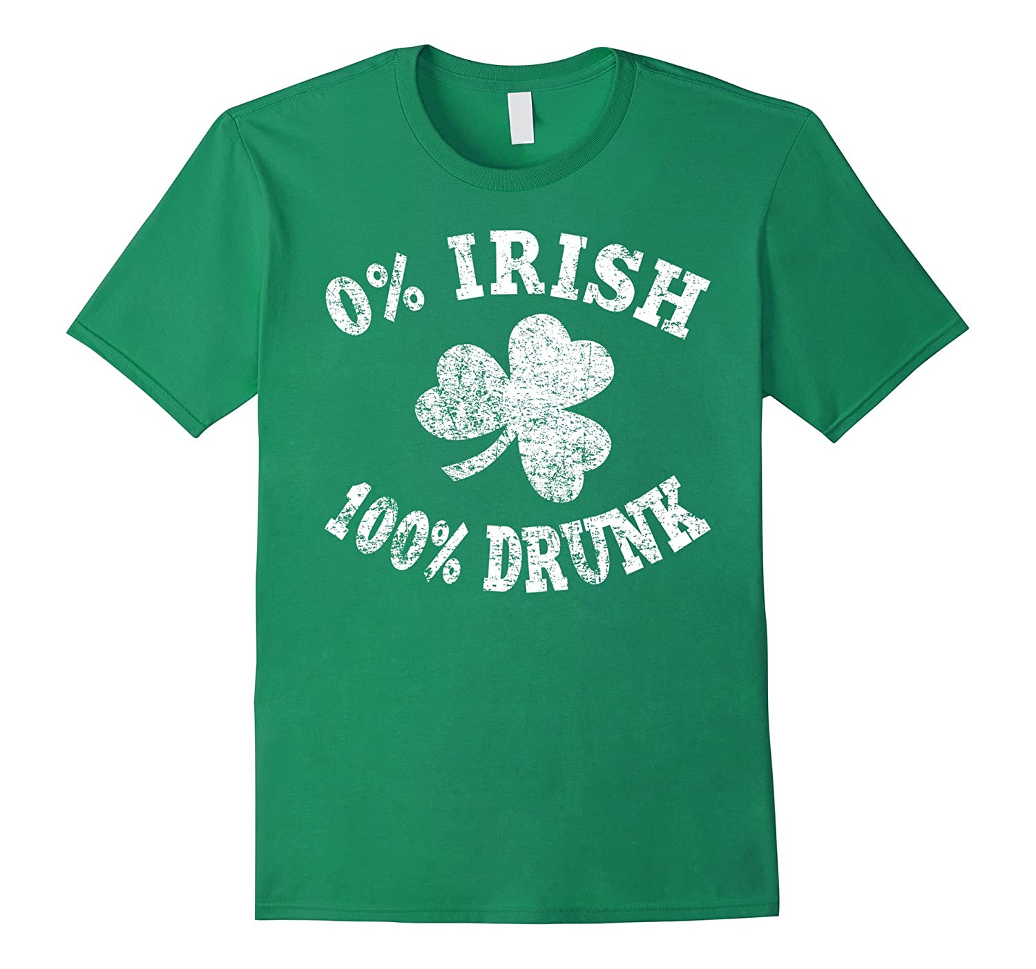 0 Irish 100 Drunk Shirt-TD