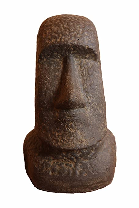 Moai Rapa Nui Easter Island Replica/Replication Statue Garden Décor   Medium