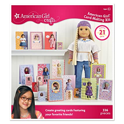 Amazon Com American Girl Crafts Card Making Kit Historical Doll