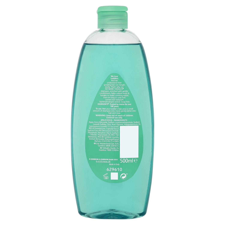 Johnson    Johnson 500 ml No más enredos Baby Shampoo Johnson and Johnson  8796700 c5e5c72fb0b