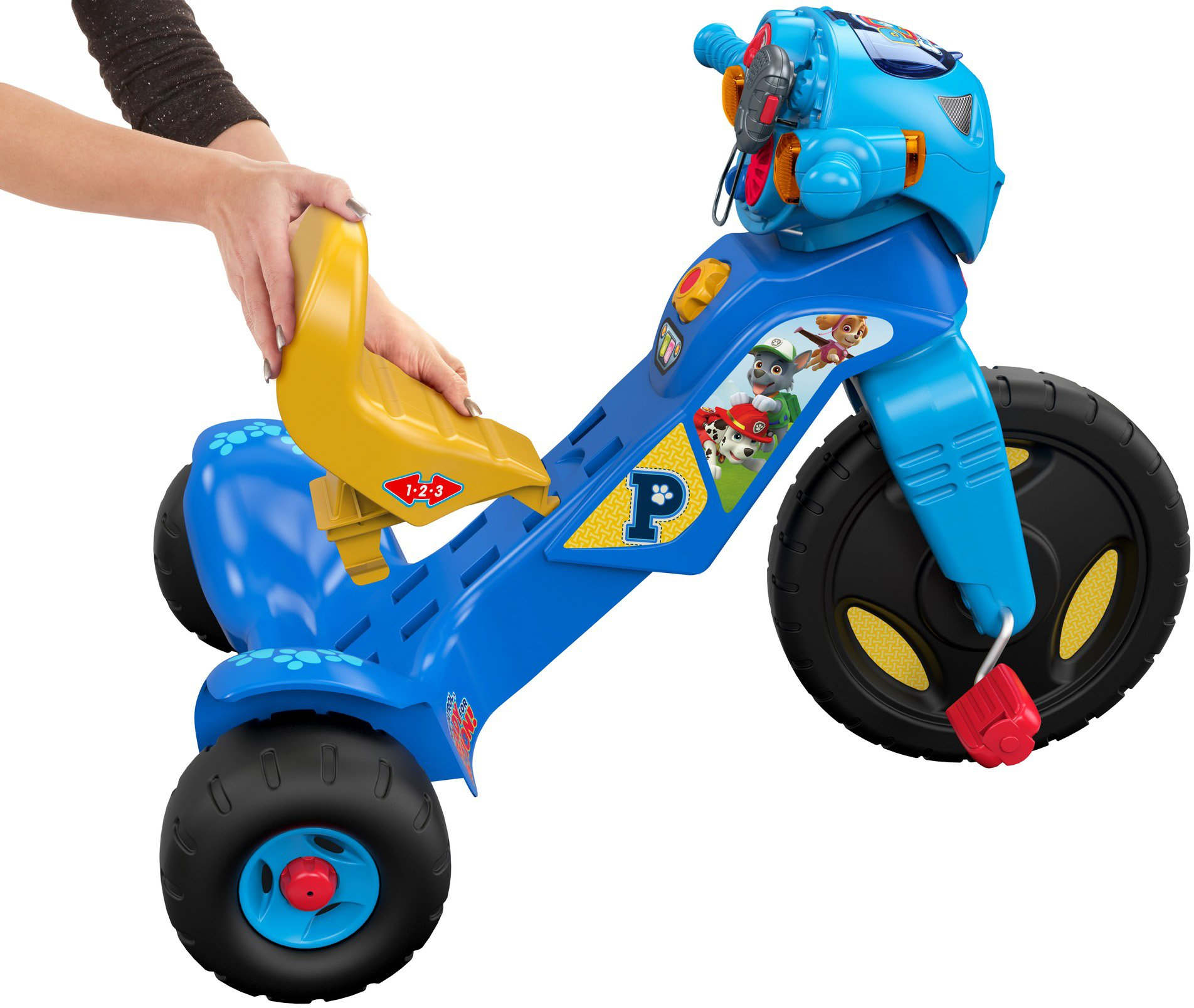 Fisher Price Nickelodeon PAW Patrol Lights & Sounds Trike
