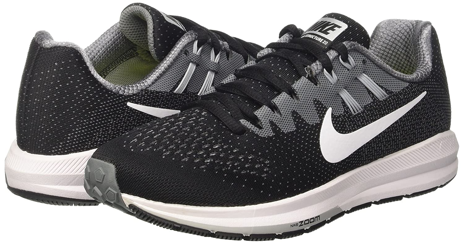 pretty nice 1a867 17428 Amazon.com   Nike Women s Air Zoom Structure 20 Shield Running Shoes   Road  Running