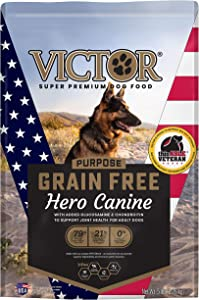 VICTOR Purpose - Grain Free Hero Canine, Dry Dog Food