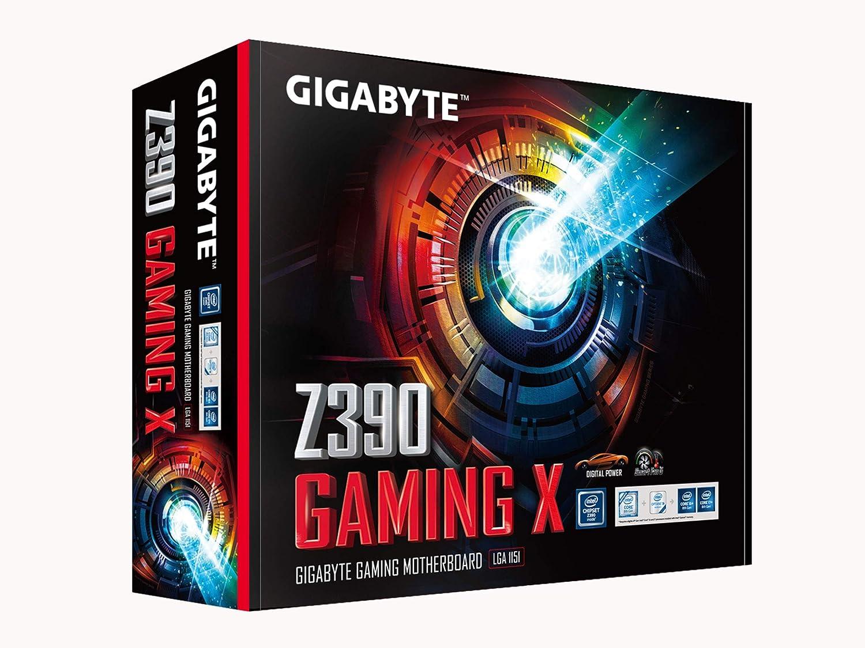 Gigabyte Z390 Gaming X Intel LGA1151//Z390//ATX//2xM.2//Realtek ALC892//Intel LAN//HDMI//Gaming Motherboard