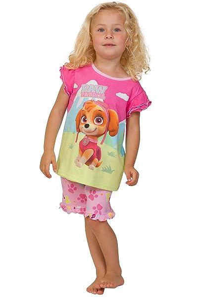 ThePyjamaFactory - Pijama - para niña rosa rosa 2-3 Años
