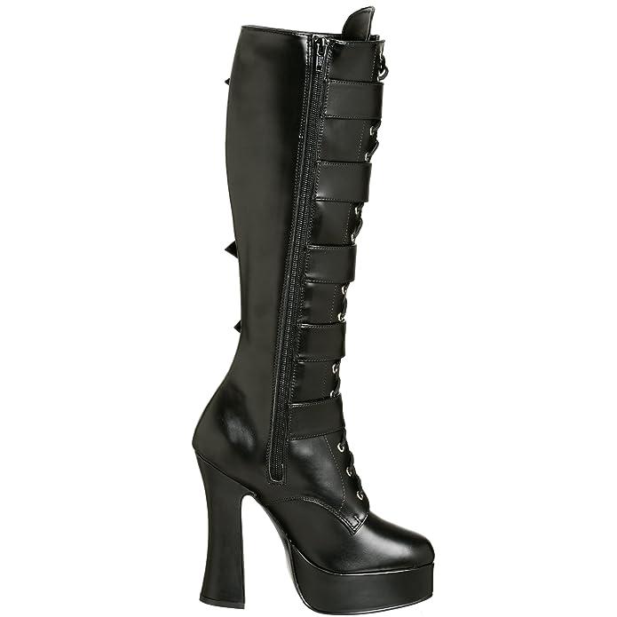 Amazon.com: Pleaser electra-2042 de arranque de la mujer: Shoes