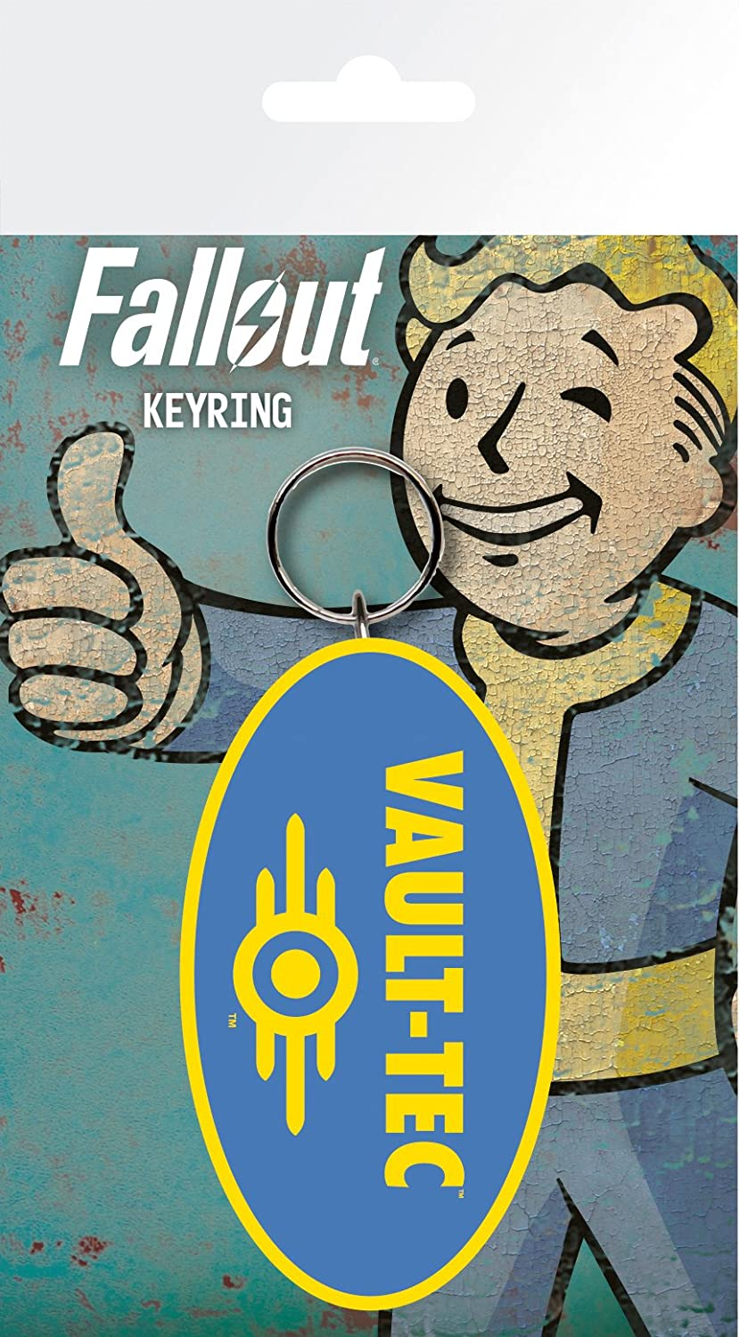 GB Eye LTD, Fallout 4, Vault Tec, Llavero
