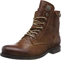 Sneaky Steve Mens Kingdom Leather Boots Brown a5f85c68e8d36