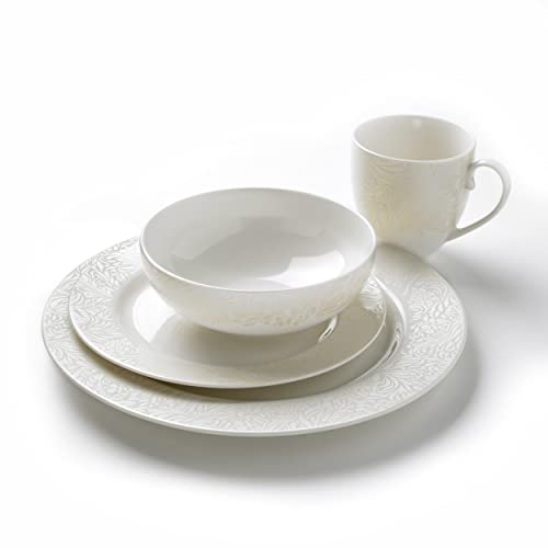 Denby Monsoon Dinnerware Boxed Set 16-Piece  sc 1 st  Amazon UK : dinnerware boxed sets - pezcame.com