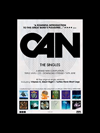 Stick It On Your Wall Can - The Singles Collection Mini Poster - 40.5x30.