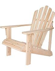 Shine Company Westport Adirondack Chair, Natural