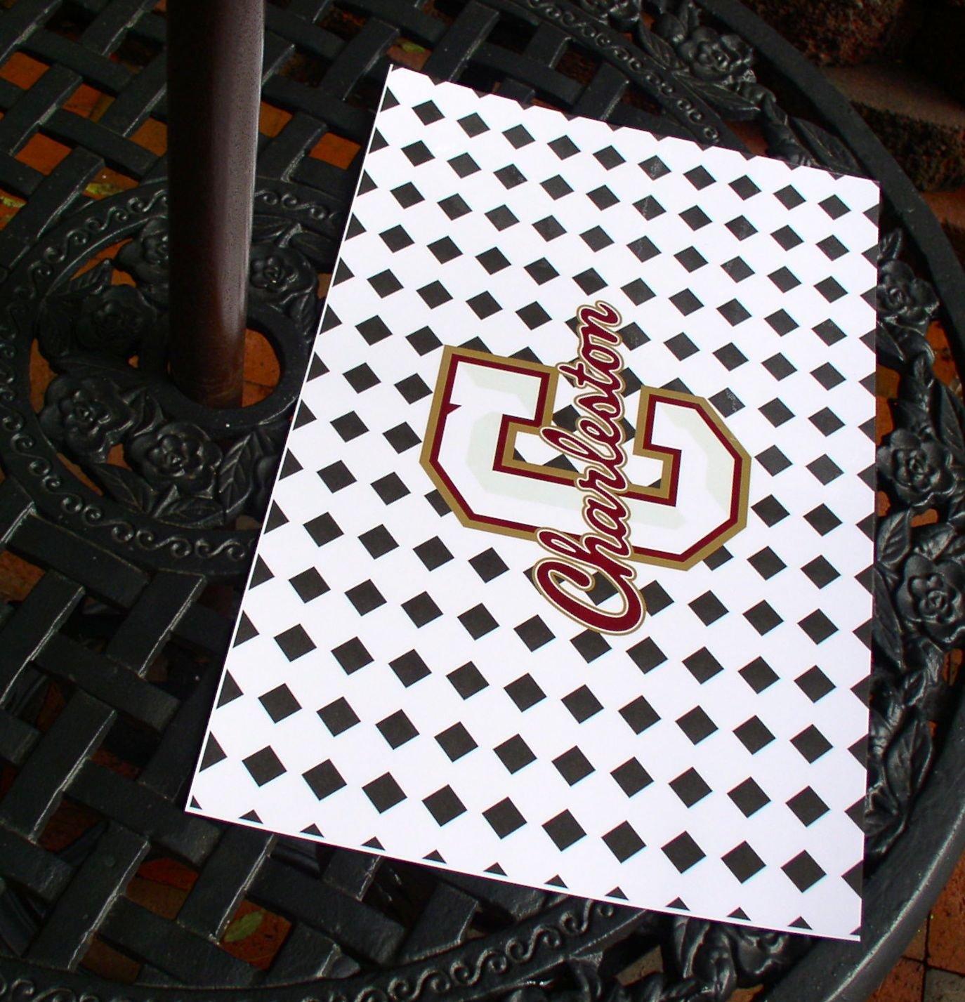 College of Charleston Tile Pattern laminated place mats - Set of 4