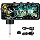 Donner Bass Guitar Headphone Amp Basement Pocket FX WAH Rechargeable Mini Practice Amplifier