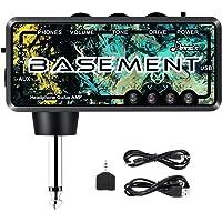 Donner Basement Amplificador Auriculares Guitarra Bajo, Mini AMP AmPlug Bolsillo FX WAH Recargable