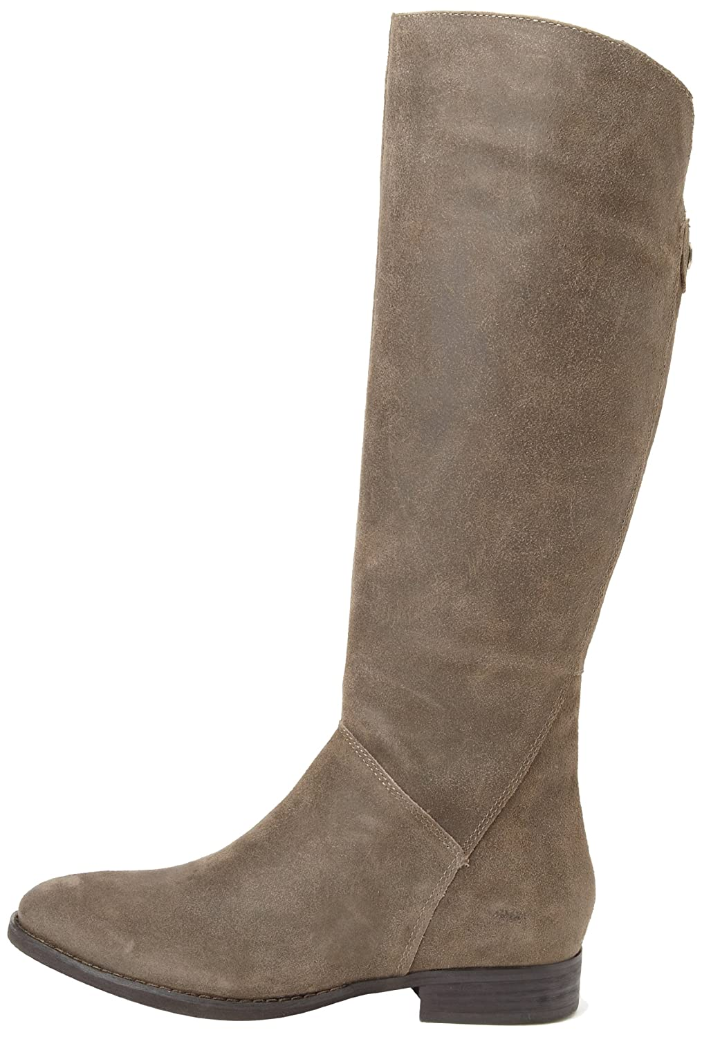 Amazon.com | Ivanka Trump Women's Jenn Motorcycle Boot, Grey, 8 M US |  Knee-High