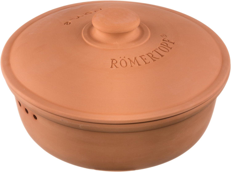 Römertopf 80905 - Fuente de Horno de cerámica para Pan, Color Terracota