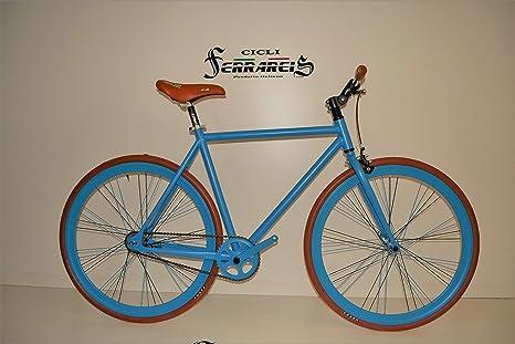 Fixed Bike Single Speed Contropedale Fixie Scatto Fisso Bicicletta