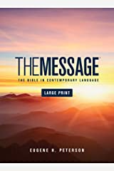 The Message Large Print (Hardcover): The Bible in Contemporary Language Hardcover