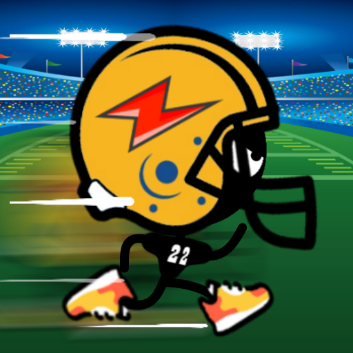 Quarterback Stickman Run -