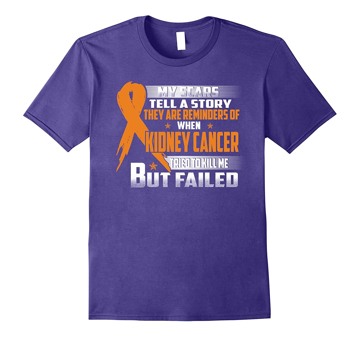 My scars remind me when KIDNEY CANCER tried to kill me-FL