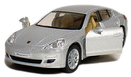 5 Porsche Panamera S 1:40 Scale (Silver) by Kinsmart