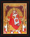 Buy Pictoreal Sai Baba 3d Photo Frame Online At Low Prices