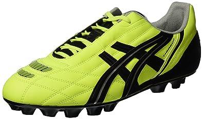 d44a831ad Asics PY408 9454 Chaussures de football Tigreor IT, jaune fluo, noir ...
