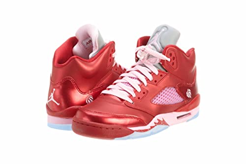 ebd9bf713f9135 Nike Air Girls Air Jordan 5 Retro (GS) Grade School Sizes   Gym Red