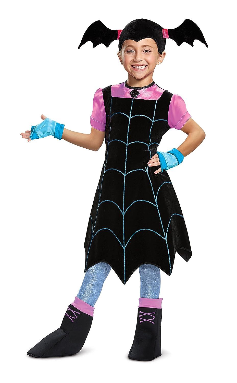 Disfraz de vampirina para niños, Negro, Size/(4-6x): Disguise ...