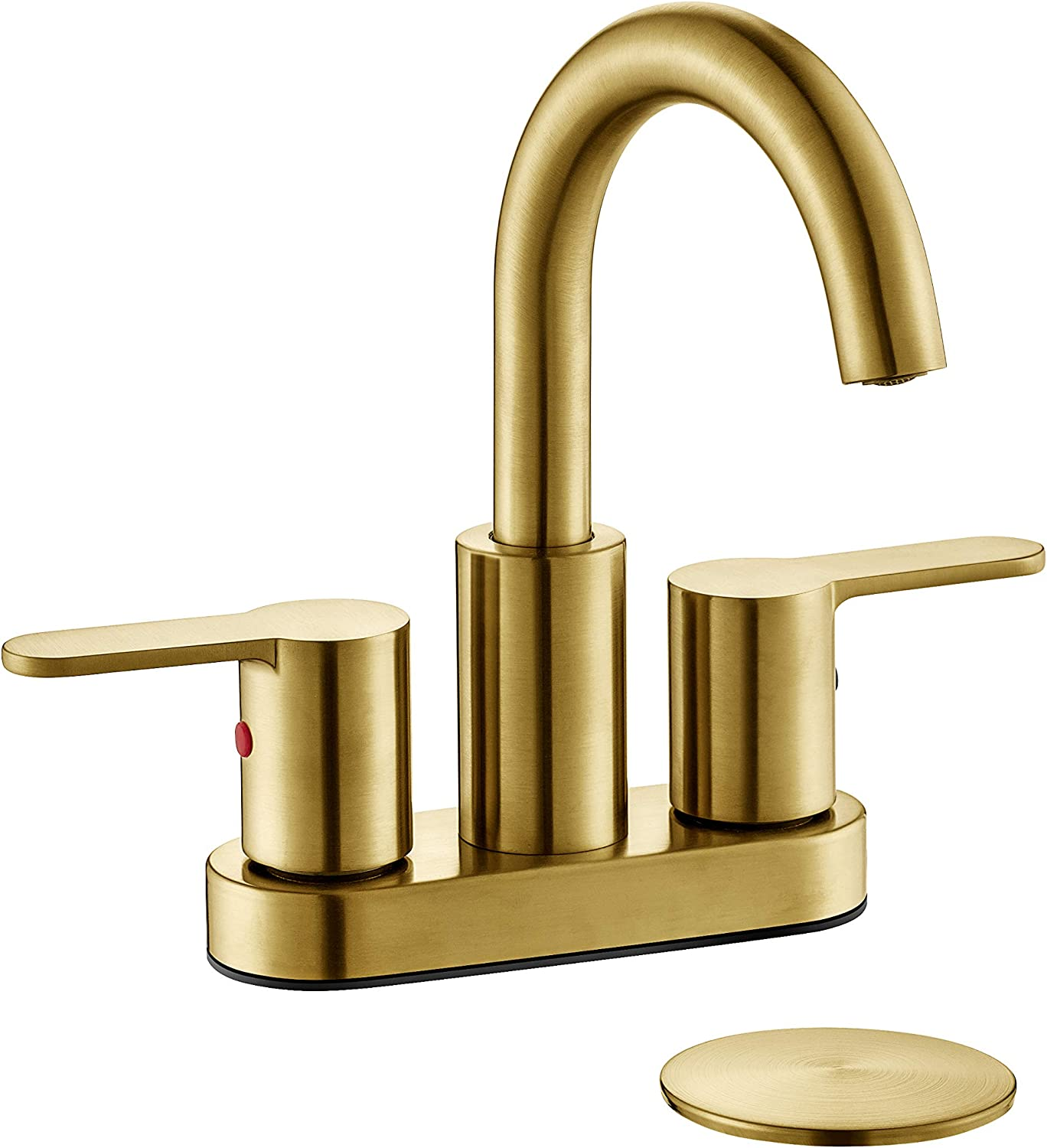 """Oil Rubbed Bronze 4/"""" Centerset Bathroom Two Holes Basin Faucet Sink Tap fnf287"""