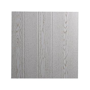 DECOSA Deckenplatten ATHEN in Holz Optik - Deckenpaneele in Esche ...