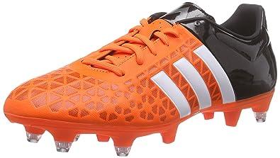 more photos 8cb8e e2966 adidas Performance ACE15.3 SG, Chaussures de Football Homme - Orange -  Orange (