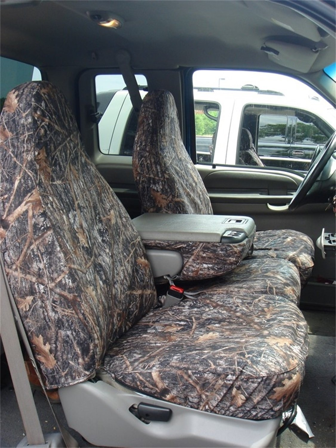 Covercraft SS3396PCCT SeatSaver Front 40//20//40 Bench Seat Cover for F150 09
