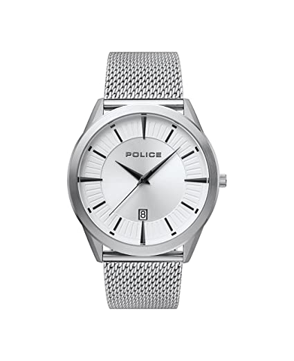 Police Mens Analogue Classic Quartz Watch with Stainless Steel Strap  15305JS 04MM  Amazon.co.uk  Watches de85e91423