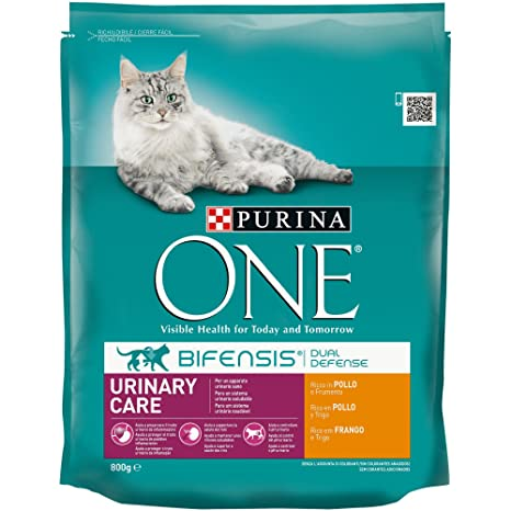 PURINA ONE Bifensis Pienso para Gatos con Cuidado Urinario Pollo y ...
