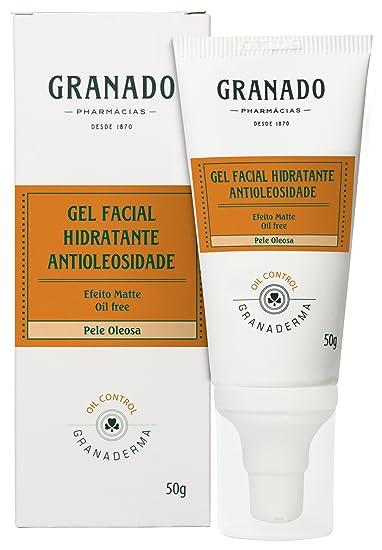 Linha Granaderma (Oil-Control) Granado - Gel Facial Hidratante Antioleosidade 50 Gr -