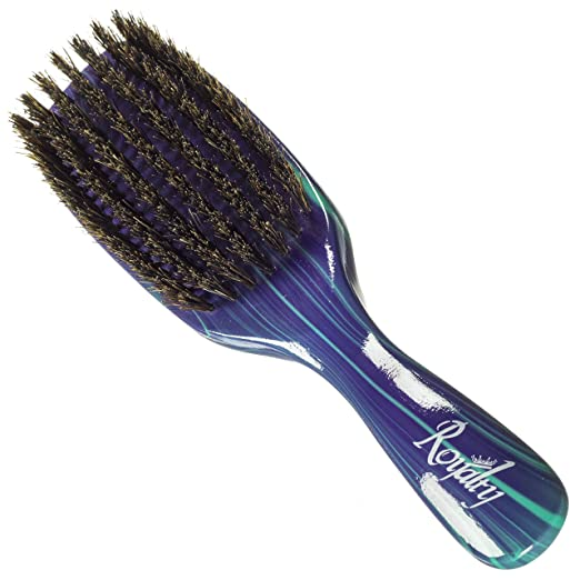 Royalty By Brush King Wave Brush #727-7 Row Firm Medium- Great 360 waves brush for Wolfing- From the maker of Torino Pro
